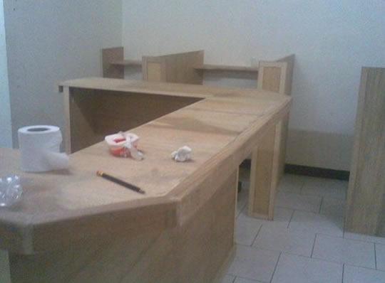 Computer Table Design For Internet Cafe